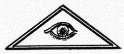 El triángulo y el ojo que todo lo ve